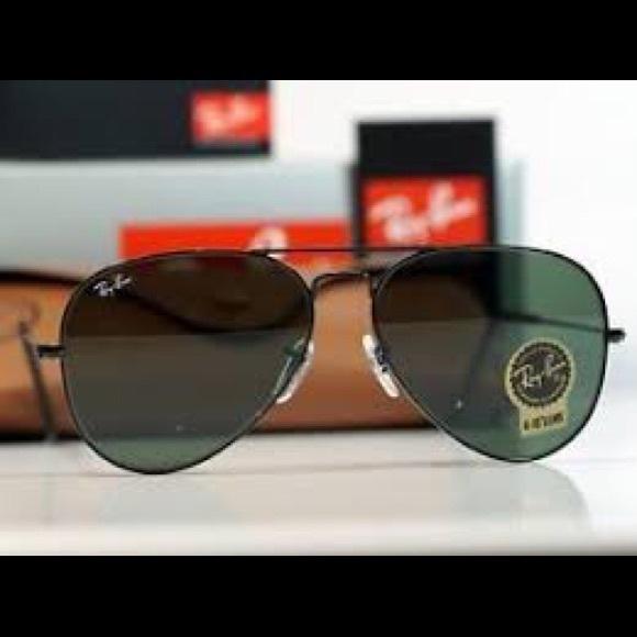 NWOT Ray-Ban Vintage Aviator Sunglasses